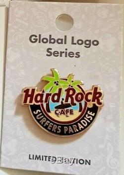 Hard Rock Cafe Logo De La Série Global Logo De Surfers Paradise