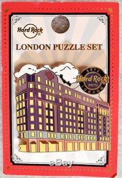 Hard Rock Cafe London 2019 Façades 3 Pin Puzzle Set # 507902 # 507903 & # 505050
