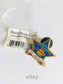 Hard Rock Cafe London Staff 2005 Grande Réouverture Blue Star