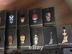 Hard Rock Cafe Lot De 41 Broches