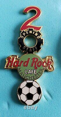 Hard Rock Cafe Manchester Grand Opening Staff 2000 Soccer (football) Ball Pin