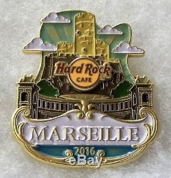 Hard Rock Cafe Marseille Edition Limitée Original Icône Série City Pin # 90286
