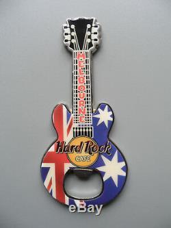 Hard Rock Cafe Melbourne Drapeau Australien Ouvre-bouteille Avec Logo Et Logo