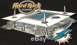 Hard Rock Cafe Miami Stade 2016 Stade Puzzle 7 Pin Set Dans Un Coffret # De 500 Neuf