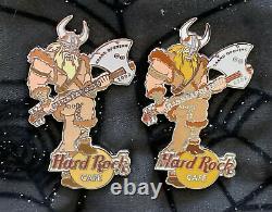 Hard Rock Cafe Minneapolis Grande Ouverture + Personnel Ouverture Pins Amazing