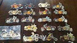 Hard Rock Cafe Motorcycle Pins De Partout Dans Le Pays. 51 Total
