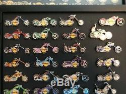 Hard Rock Cafe Motorcycle Pins Lot De 58