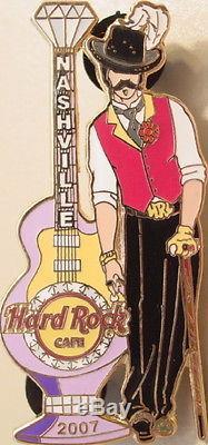 Hard Rock Cafe Nashville 2007 Queen Silver Dollar Saloon Set 5 Pin Pimp & 4 Ho 's
