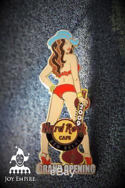 Hard Rock Cafe New Delhi Inde Fille Avec Sitar Grand Ouverture Pin 2009 Le50