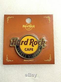 Hard Rock Cafe New York, Yankee Stadium Logo L'aimant N'est Pas Un Ouvre-porte