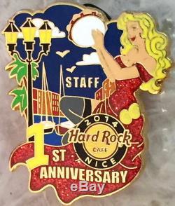 Hard Rock Cafe Nice 2014 1er Anniversaire Poupée D'etalon Sexy Girl Le 150 Hrc # 81749
