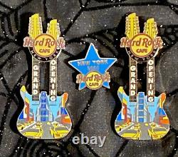 Hard Rock Cafe Nyc Grande Ouverture + Personnel D'ouverture + Training Star Pins
