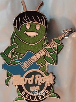 Hard Rock Cafe Orlando 2011 Les Beetles 4 Pins John Paul George Et Ringo Beatles