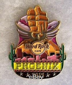 Hard Rock Cafe Phoenix Icône Originale City Series Pin # 84344 Édition Limitée 100