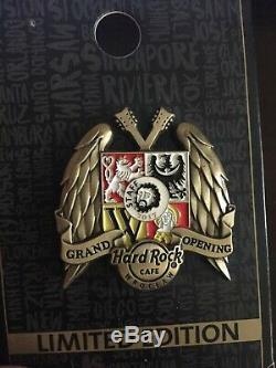 Hard Rock Cafe Pin Épingle De La Grande Ouverture Du Wroclaw