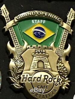 Hard Rock Cafe Pin Fortaleza 2018 Ouverture Officielle Du Personnel Le150
