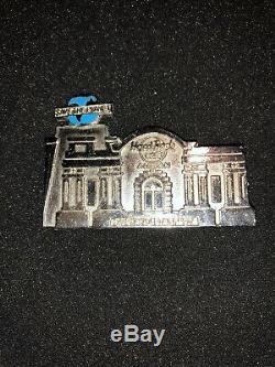 Hard Rock Cafe Pin Hrc Personnel De Amman - Ouverture 1997 - Sauvez La Planète Argent