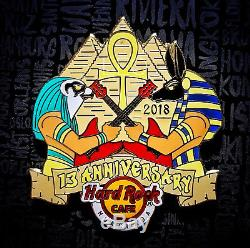 Hard Rock Cafe Pin Hurghada 13ème Anniversaire