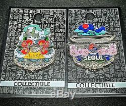 Hard Rock Cafe Pin Icon Busan Et Séoul (très Rare)