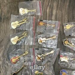Hard Rock Cafe Pin Lot Collection 80 Plus Las Vegas Maui Cancun Atlanta Chicago