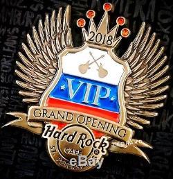 Hard Rock Cafe Pin Ouverture De Saint-pétersbourg Vip