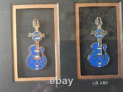 Hard Rock Cafe Pin Production Set Lt. Ed. 250 With Coa