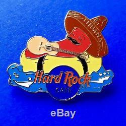 Hard Rock Cafe Pin Tijuana Au Mexique Chilli Pepper Pin Set 3 Broches Rares
