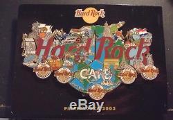 Hard Rock Cafe Pinapalooza Dans Le Monde Entier 2003 Puzzle 5 Broches Ensemble Complet