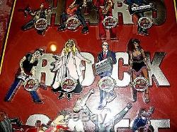 Hard Rock Cafe Pins Ft. Laud 30 Set Anniversaire Série Musicien De 12 Encadré