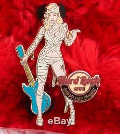 Hard Rock Cafe Pins Jeu En Ligne Halloween Costume Girl Chat Momie Sorcière Épouvantail