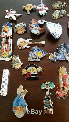 Hard Rock Cafe Pins Lot De 30