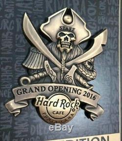 Hard Rock Cafe Punta Cana Aéroport Ouverture Du Personnel Le100 3d Pin 2020