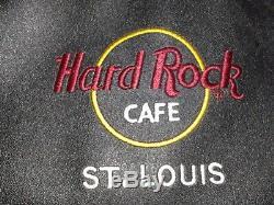 Hard Rock Café Saint-louis Pin Sac Collector Nouveau Avec Tag Avec 3 Pins Inclus