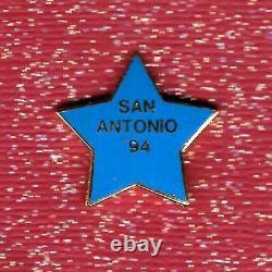 Hard Rock Cafe San Antonio 1994 Training Star (#8140)