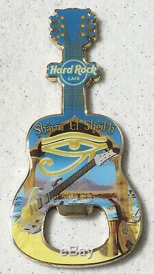 Hard Rock Cafe - Sharm El Sheikh City - Ouvre-bouteille De Guitare - Rare