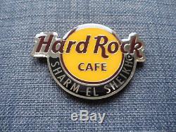 Hard Rock Cafe Sharm El Sheikh Logo De La Ville Ronde Magnet Hrc (sans Décapsuleur)
