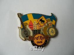 Hard Rock Cafe Stockholm - Aimant Avec Logo De Ville Alternatif (sans Ouvre-bouteille)