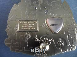 Hard Rock Cafe Stockholm City Icon Série Originale De La Version V15, Broche Sur Carte