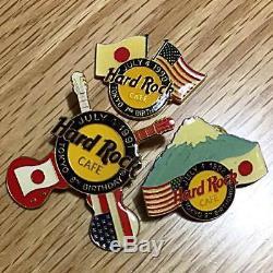 Hard Rock Cafe Tokyo Pin 7ème-12ème Anniversaire 1990-1995