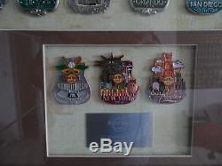 Hard Rock Café USA City Icon Série Cadre Pin Set 51 Pins & 3 Prototype Le20