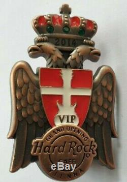 Hard Rock Café Vienne Vip Grand Pin D'ouverture Le