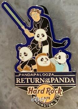 Hard Rock Cafe Washington DC 2015 Pandapalooza Retour Du Panda Pin # 84036