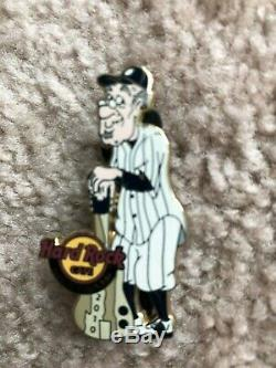 Hard Rock Cafe Yankee Stadium Lot De 3 Pins Rares Grand Opening 1er Anniversaire