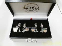 Hard Rock Café Yokoha 9ème Anniversaire Pin Badge Limitée Kiss Baiser Nouv Régl