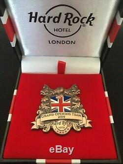 Hard Rock Cafe (hôtel) Grand Opening Pin Personnel Limited Edition