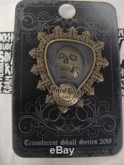 Hard Rock Cafefour (4) Série De Têtes De Crâne Translucide2019brand Nouveau Sur Les Cartes