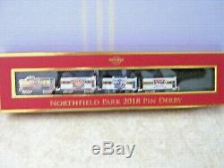 Hard Rock Northfield Park 2018 Train Pin Derby Set Train Voitures 6 22 23 18