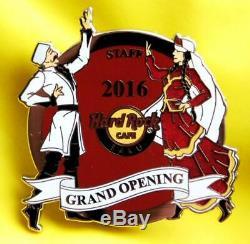 Hrc Hard Rock Café Baku Ouverture Officielle Staff Pin