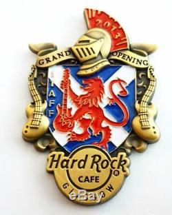 Hrc Hard Rock Café Glasgow Ouverture Officielle Staff Pin