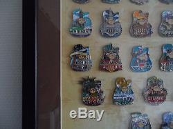 Jeu De Broches Pour Cadre Série City Icon USA Hard Rock Cafe 51 Broches & 3 Prototypes Le20